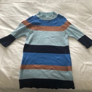 Almost new Striped turtleneck top / sweater (M)